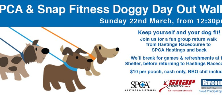 SPCA & Snap Fitness Doggy Day Out Walk