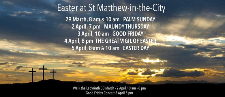 Easter at St Matthew-in-the-City