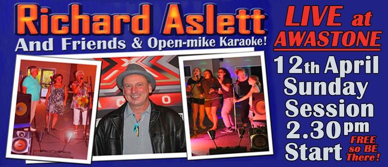 Richard Aslett & Friends: Songs & Karaoke Sunday Session