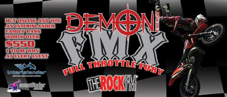 Demon FMX Full Throttle Fury - Otaihanga: CANCELLED
