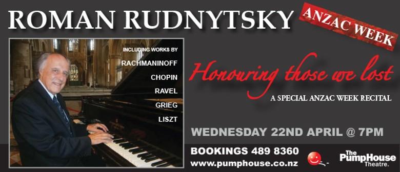 Roman Rudnytsky Classical Pianist
