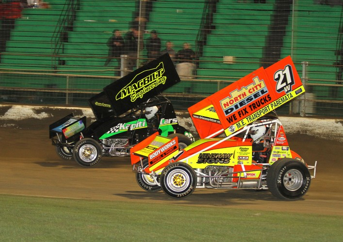 The Webster Sprintcars Midgets Supersaloons