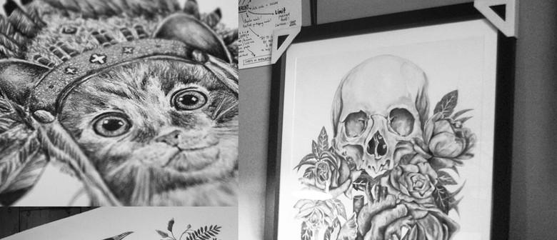 Emmaline Bailey - Art Exhibition Opening Night
