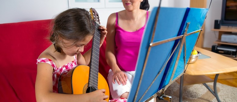 Guitar for Children 10-12 years Rhythm Guitar & Songwriting