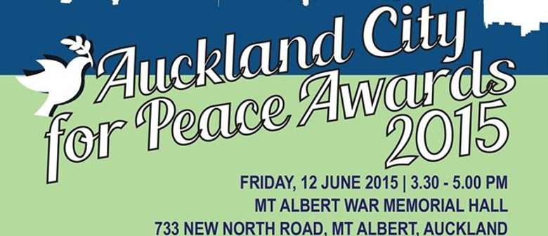 Auckland City for Peace Awards 2015