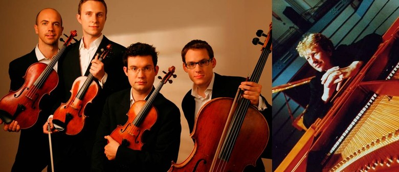 Chamber Music NZ: Piers Lane and the Doric String Quartet