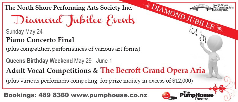 North Shore Performing Arts Society Diamond Jubilee Events