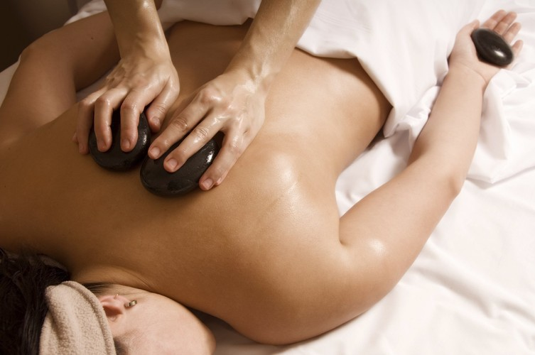 Hot stone massage for lower back pain-2014