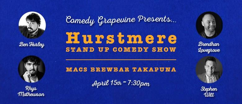 Comedy Grapevine's Ben Hurley & Brendhan Lovegrove Show