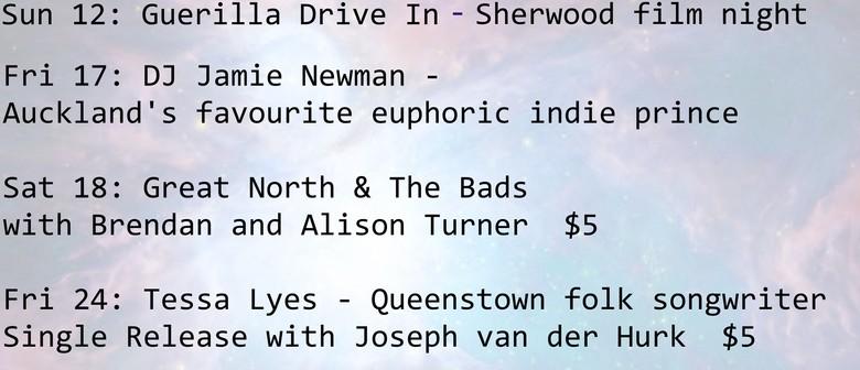 Guerilla Drive In - Sherwood Film Night.