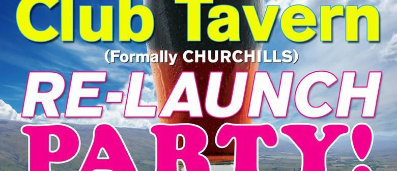 Club Tavern Re-Launch