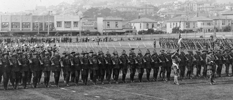 Anzac Day Eve Street Parade - Wellington Remembers