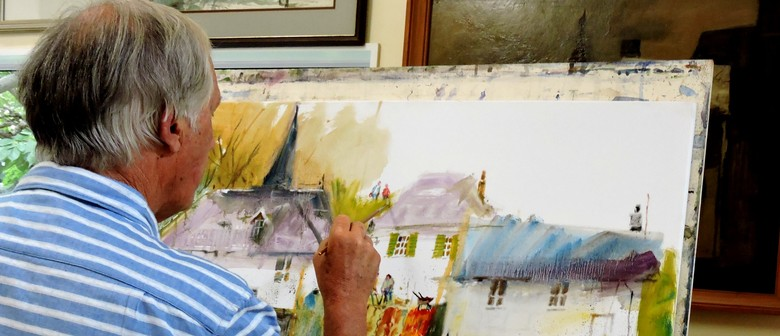 Art Exhibition - JK Reed - Adventures in Oil and Watercolour
