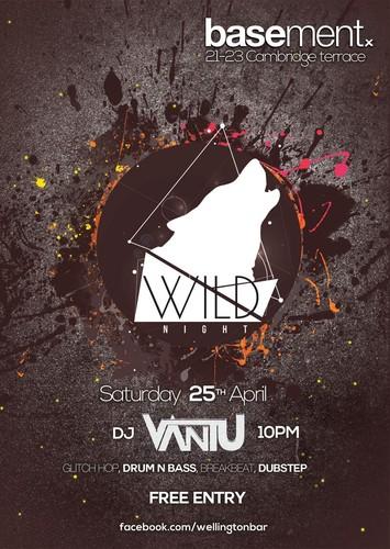 Wild night wellington eventfinda for 25 27 cambridge terrace wellington