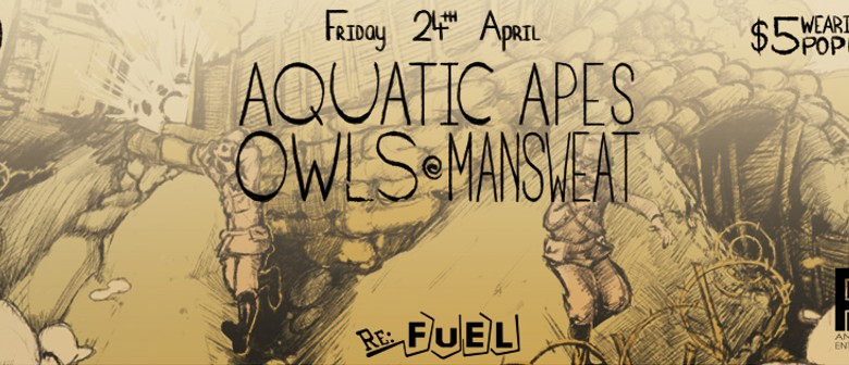 Anzac-Eve Service Feat. Aquatic Apes, ManSweat, and Owls