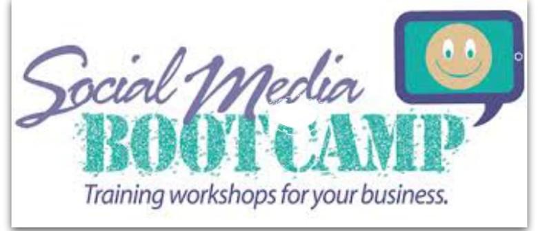 Social Media Bootcamp: CANCELLED