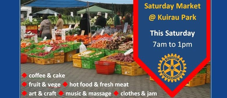 Saturday Charity Market (Rotary)