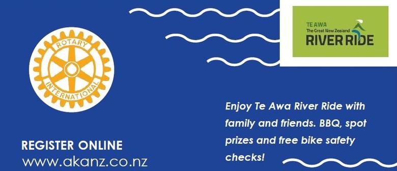 Rotary Wheels on Waikato Fun Family Cycle Day - Waikato