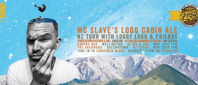 MC Slave's Logg Cabin Ale Tour w MU, Koa & MC Slave