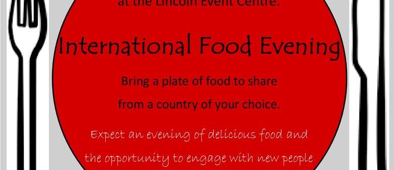 International Food Evening