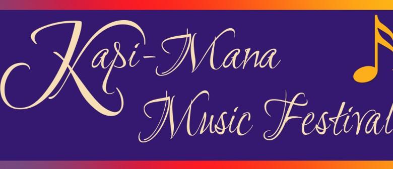 Kapi-Mana Music Festival Demonstration Concert - Porirua
