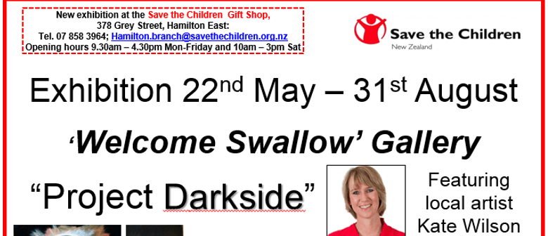 Swallow Gallery Exhibition - Kate Wilson's Project Darkside