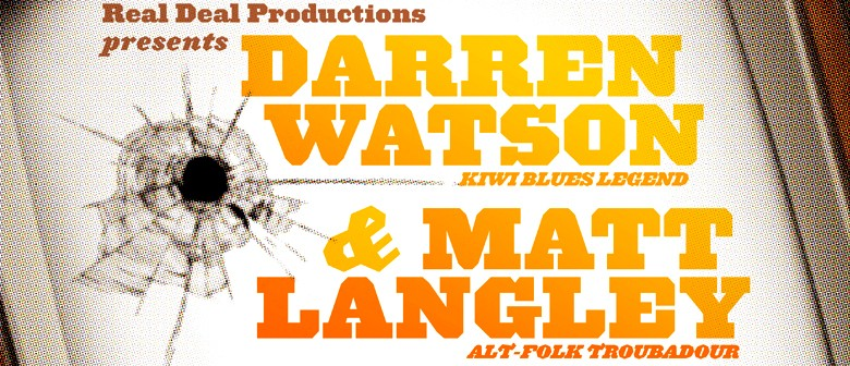 Darren Watson & Matt Langley - Shoot Your Television Tour: CANCELLED