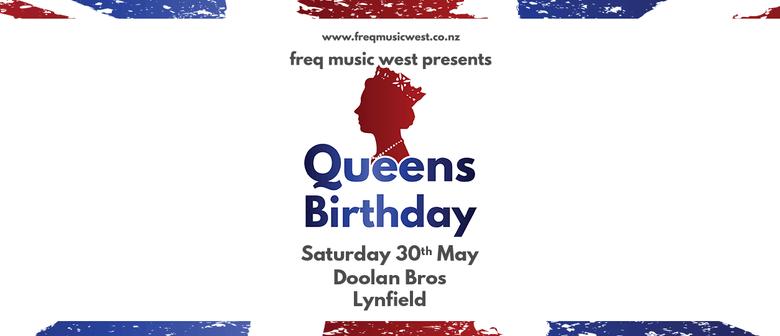 Queens Birthday Saturday DJs