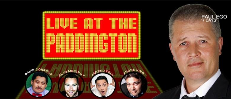"Paul Ego ""Live At The Paddington"""