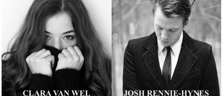 Clara Van Wel and Josh Rennie-Hynes