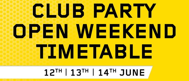 Les Mills Takapuna Club Party Open Weekend