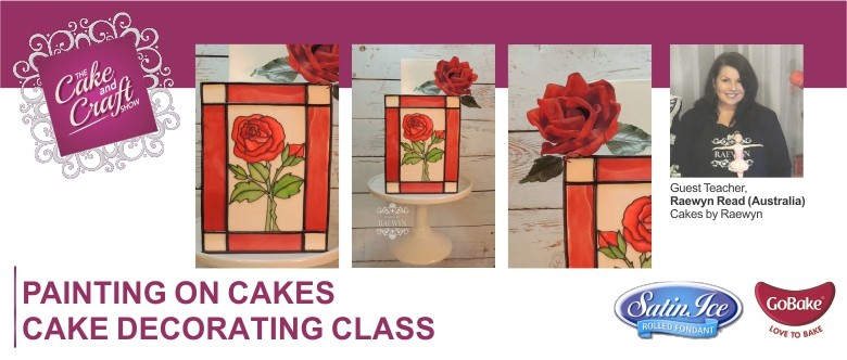 Cake Decorating Co Nz : Painting on Cakes with Raewyn Read Cake Decorating Class ...