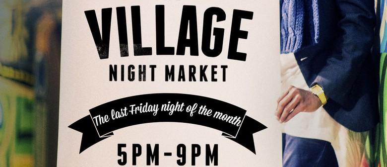 Village Night Market Winter Festival