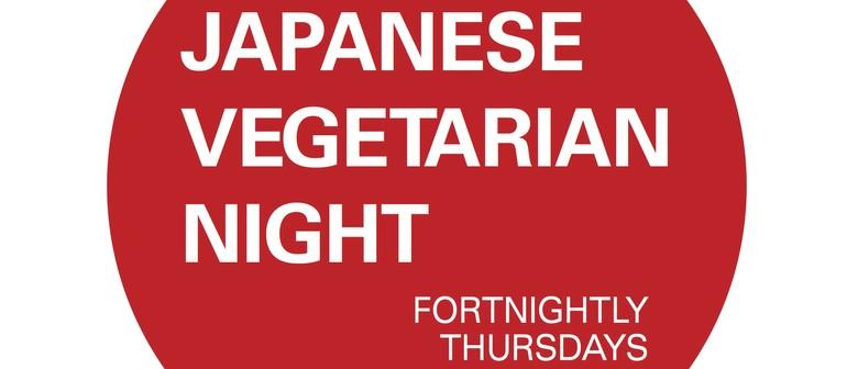 Japanese Vegetarian Night