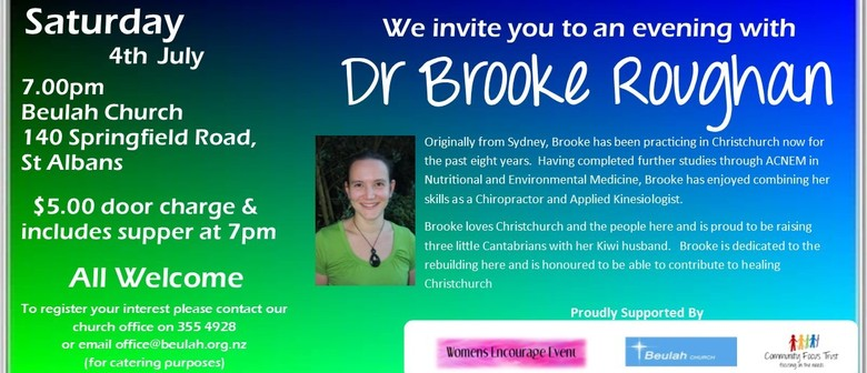 Tips To Avoiding Cancer with Dr Brooke Roughan