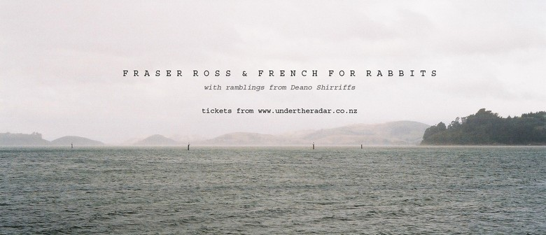 Fraser Ross ' Mongrels' LP release - with French for Rabbits