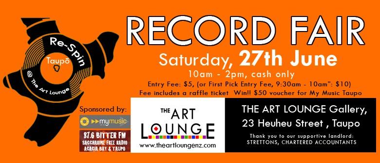 Re-Spin: Record Fair