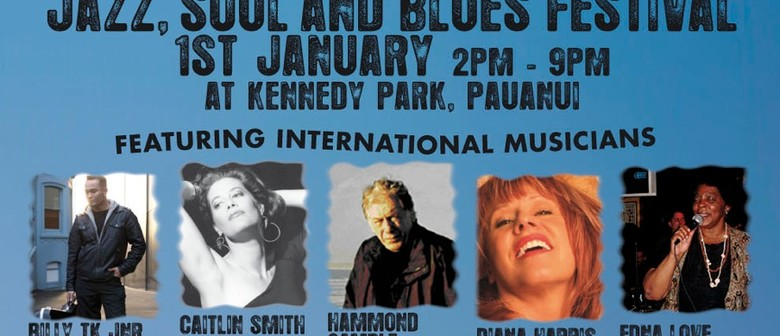 Pauanui Concert On The Park-Jazz,Blues and Soul Festival