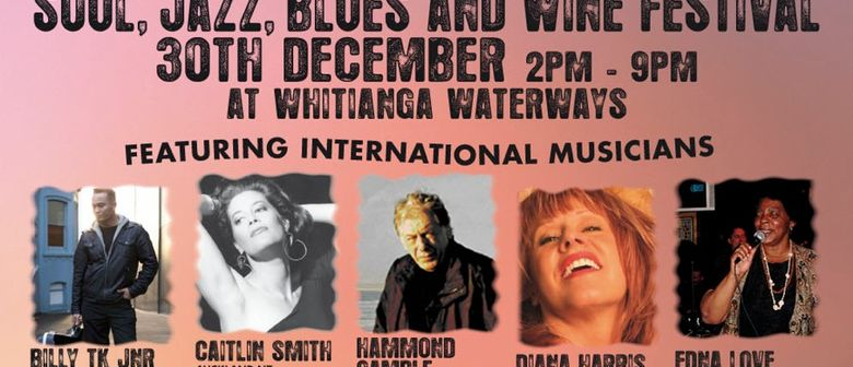 Whitianga Concert On The Canal - Jazz, Blues, and Wine Fest