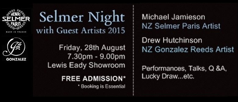Selmer Night with Guest Artists 2015
