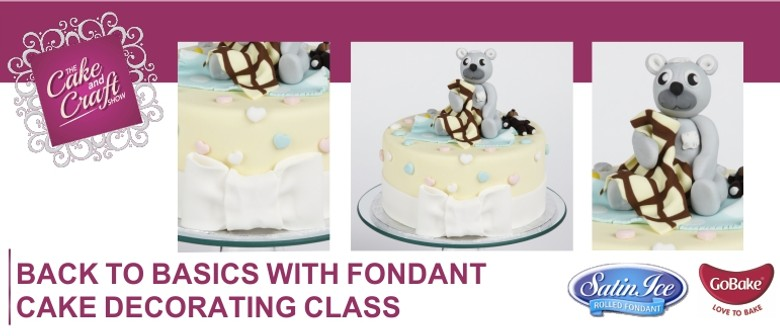 Back to Basics using Fondant with GoBake - Whangarei ...