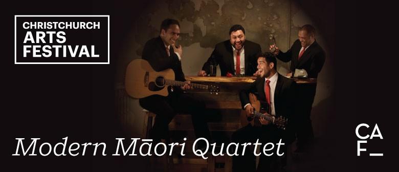 Christchurch Arts Festival: Modern Maori Quartet