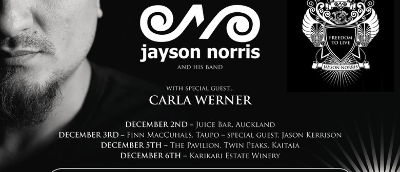 Jayson Norris With Special Guests
