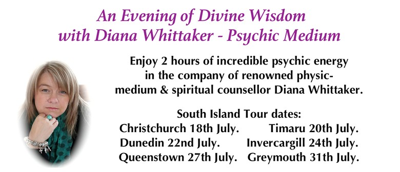 An Evening of Divine Wisdom with Diana Whittaker