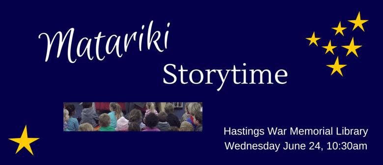 Matariki Storytime - Hastings Library