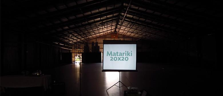 Matariki 20x20