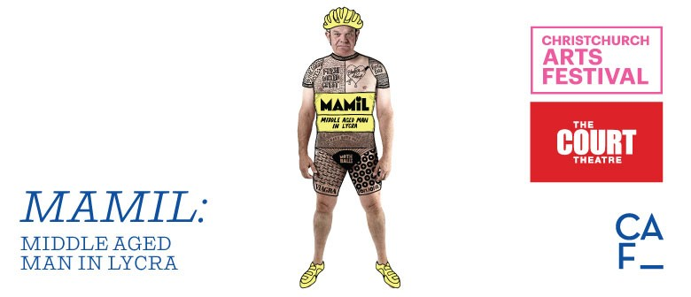 Christchurch Arts Festival: MAMIL - Middle Aged Man In Lycra