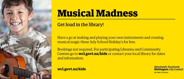Musical Madness - July School Holiday Event