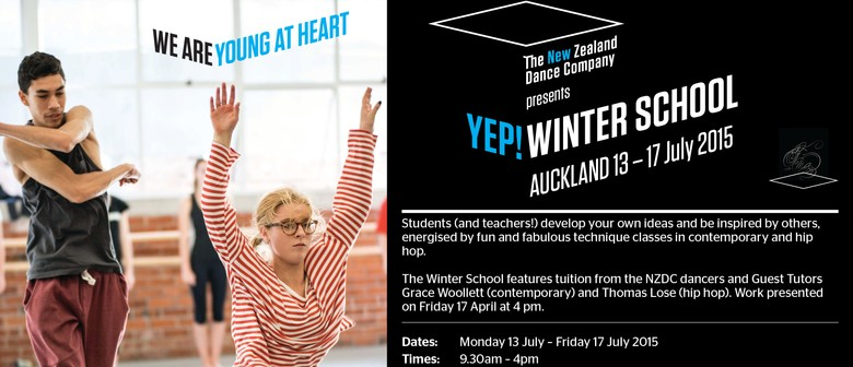 The New Zealand Dance Company YEP! Winter School