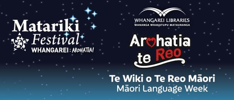 Maori Language Week at the Library